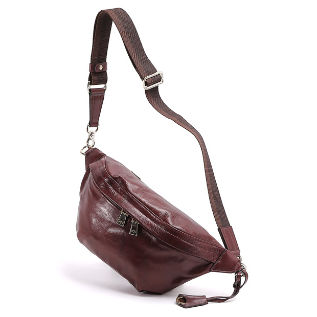 aniaryアニアリ AL ボディバッグ Antique Leather Body Bag ANIARY 01-07003