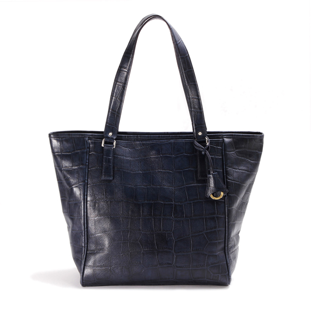 aniaryアニアリ シンプルトートバッグ 型押し クロコダイル Double Embossed Leather Shimple Tote aniary 12-02000
