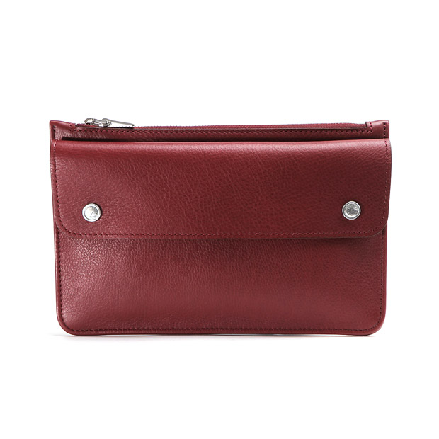 aniaryアニアリ クラッチバッグ Shrink Leather Clutch ANIARY 07-08001