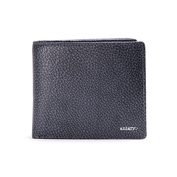aniaryアニアリ 2つ折り財布 Grind Leather Bill Holder ANIARY 15-20000