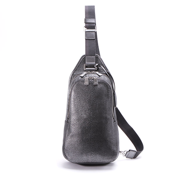 aniaryアニアリ ボディバッグ Scale Leather Body bag ANIARY 18-07000