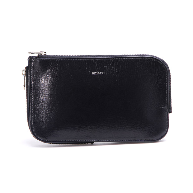 aniaryアニアリ マルチケースM マルチウォレット パスポート 通帳 Antique Leather Multi Case M ANIARY 01-08003