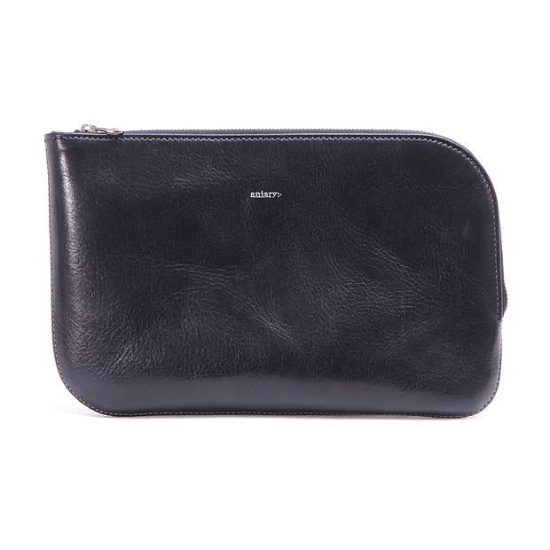 aniaryアニアリ マルチケースL クラッチ ポーチ パスポート 通帳 Antique Leather Multi Case L ANIARY 01-08004