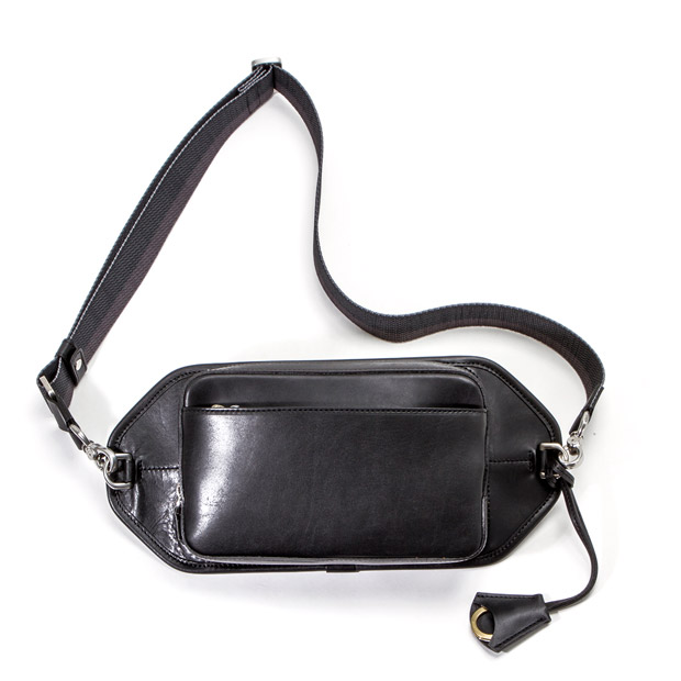 aniaryアニアリ Body Bag Axis Leather ボディバッグ ANIARY 26-07000