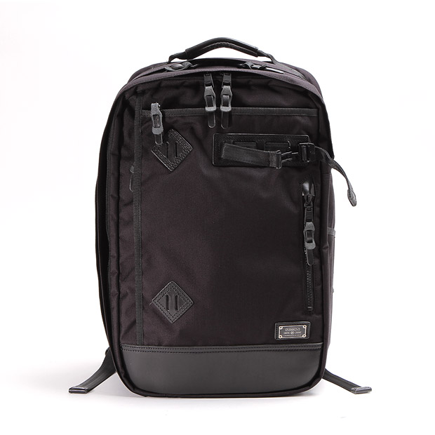 AS2OVアッソブ エクスクルーシブ バリスティックナイロン 2WAY バックパック リュック EXCLUSIVE BALLISTIC NYLON 2WAY BACKPACK-A01 AS2OV 061308