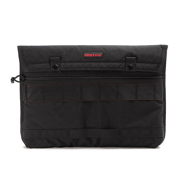 BRIEFINGブリーフィング PCケース クラッチバッグ フラップ 15 QL 500D CORDURA FLAP 15 BRIEFING BRF385219