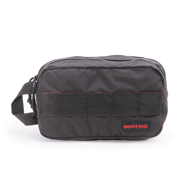 BRIEFINGブリーフィング ダブルジップ ポーチ 小物入れ MODULE WARE DOUBLE ZIP POUCH MW BRIEFING BRM181612