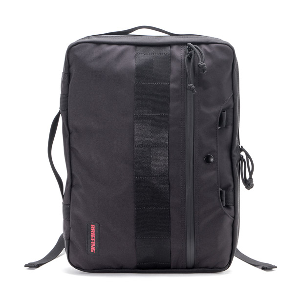 BRIEFINGブリーフィング モールバッグ ビジネスバッグ ブリーフケース 薄マチ リュック クラッチ 3WAY MODULE WARE MOLLE BAG MW WP BRIEFING BRA201B03