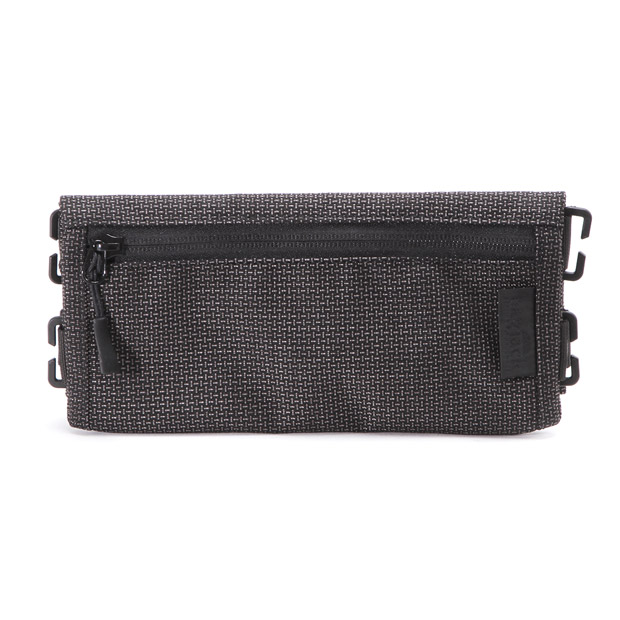 bagjackバッグジャック スクエア ポーチ TECH LINE square pouch bagjack TCL-square-pouch-grid