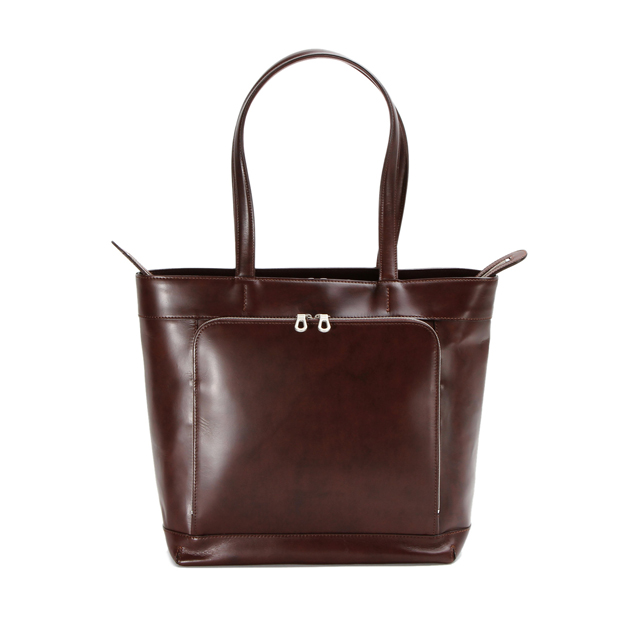 HERGOPOCHエルゴポック フロントZipトート ワキシングレザー Waxed Leather(06 Series) Tote Bag HERGOPOCH 06-TTR