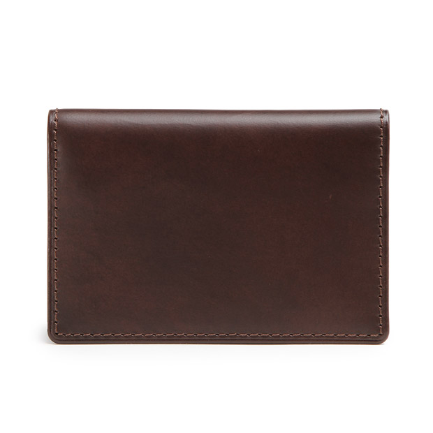 HERGOPOCHエルゴポック 名刺入れ カードケース ワキシングレザー Waxed Leather(06 Series) Card Case HERGOPOCH 06W-NAM