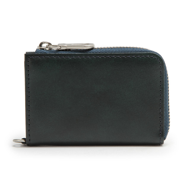 HERGOPOCHエルゴポック ファスナー小銭入れ コインケース ワキシングレザー Waxed Leather(06 Series) Coin Case HERGOPOCH 06W-FC