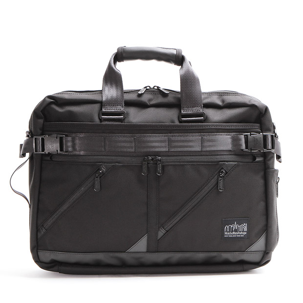 Manhattan Portage BLACK LABELマンハッタンポーテージブラックレーベル ブリーフケース リュック MINETTA TRIANGLE BRIEFCASE Manhattan Portage BLACK LABEL MP1744BL