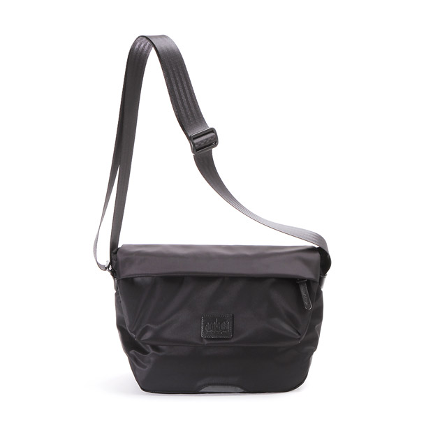マンハッタンポーテージブラックレーベル TWILL MESEROLE MESSENGER BAG Manhattan Portage BLACK LABEL MP1616TWLBL