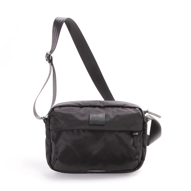 Manhattan Portage BLACK LABELマンハッタンポーテージブラックレーベル TWILL SHERMAN SQUARE BAG Manhattan Portage BLACK LABEL MP4029TWLBL