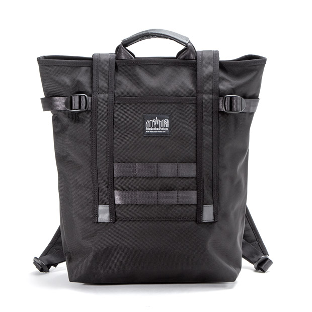 Manhattan Portage BLACK LABELマンハッタンポーテージブラックレーベル バックパック リュック CHRYSTIE BACKPACK VER.2 Manhattan Portage BLACK LABEL MP1320BL2