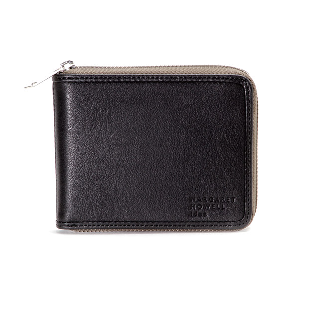 MARGARET HOWELL ideaマーガレット・ハウエル アイデア ラウンドファスナー折り財布 Round Zip Short Wallet MARGARET HOWELL idea MHMW0AS4