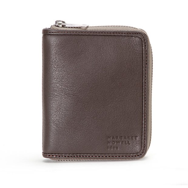 MARGARET HOWELL ideaマーガレット・ハウエル アイデア ラウンドファスナー縦型折り財布 Round Zip Short Wallet MARGARET HOWELL idea MHMW0AS3