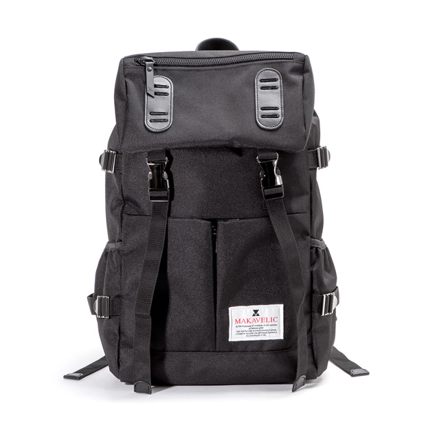 MAKAVELICマキャベリック ダブルベルト PMD MIX デイパック リュック バックパック TRUCKS DOUBLE BELT PMD MIX DAYPACK MAKAVELIC 3120-10108