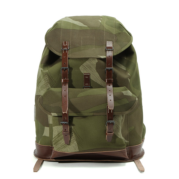 Nigel Cabournナイジェルケーボン スイスアーミー リュックサック(カモ) SWISS ARMY RUCKSACK(CAMO) Nigel Cabourn 80340061004