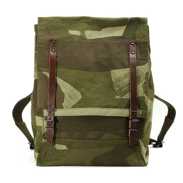 Nigel Cabournナイジェルケーボン マウンテン リュックサック(カモ) MOUNTAIN RUCKSACK(CAMO) Nigel Cabourn 80340061003