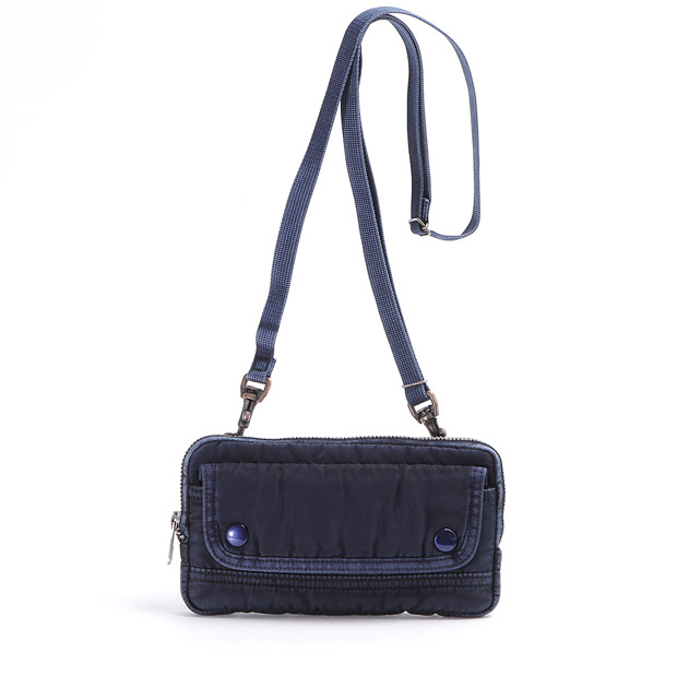Porter Classicポータークラシック ウォレット ポーチ 長財布 ショルダーバッグ SUPER NYLON S/N WALLET POUCH Porter Classic 015-803