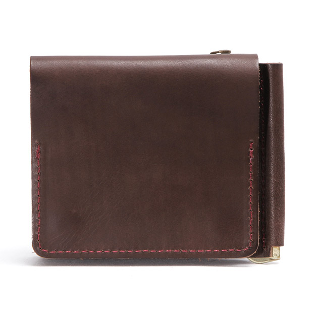 スロウ 二つ折り財布 マネークリップ toscana -compact wallet(money clip with coin&card pocket)- SLOW 333S34C