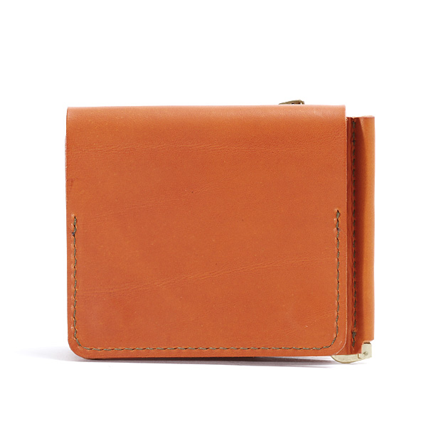 SLOWスロウ 二つ折り財布 マネークリップ toscana -compact wallet(money clip with coin&card pocket)- SLOW 333S34C