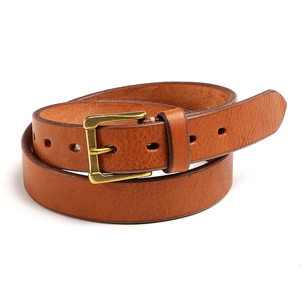 SLOWスロウ ベルト M plain belt -tochigileather 30mm belt- SLOW HS23E-Msize