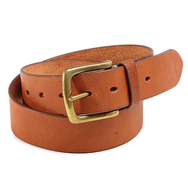 SLOWスロウ ベルト M plain belt -tochigileather 40mm belt- SLOW HS24E-Msize