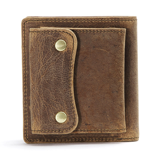 スロウ 2つ折り財布 kudu short wallet SLOW 333S68G