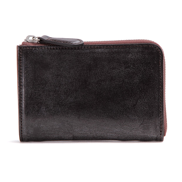 SLOWスロウ L字2つ折り財布 bridle L zip short wallet SLOW SO648G