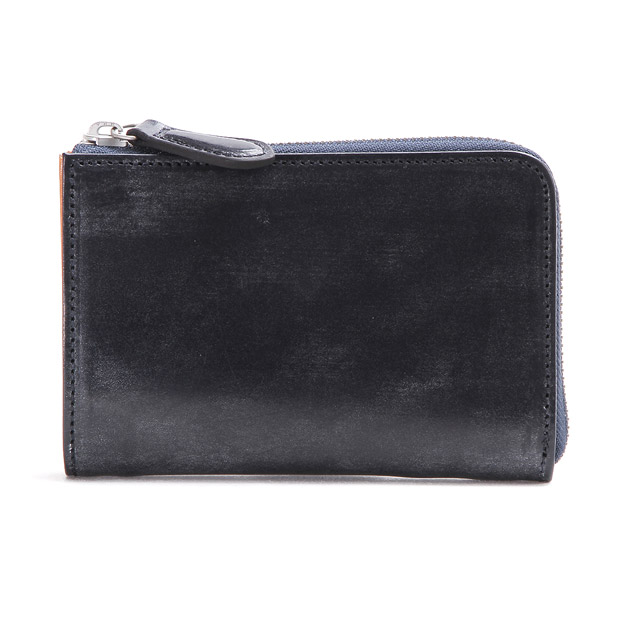 スロウ L字2つ折り財布 bridle L zip short wallet SLOW SO648G