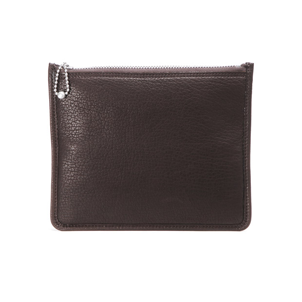 SLOWスロウ ソフト ポーチ ウォレット L 鹿革 クラッチ マルチケース 長財布 deer soft pouch wallet L SLOW SO697H