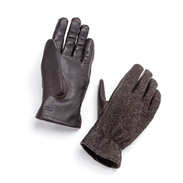 SLOWスロウ グローブ ウールリッチ ホースレザー M 馬革 手袋 glove woolrich x horse leather M SLOW SG0021