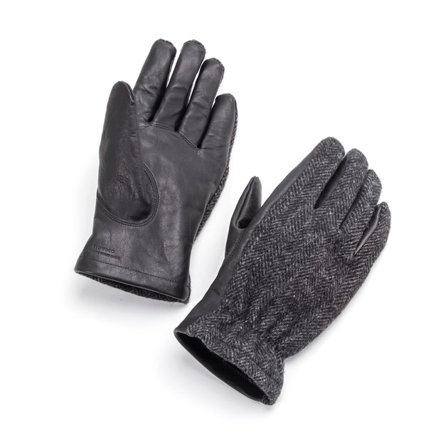 SLOWスロウ グローブ ウールリッチ ホースレザー L 馬革 手袋 glove woolrich x horse leather L SLOW SG0021