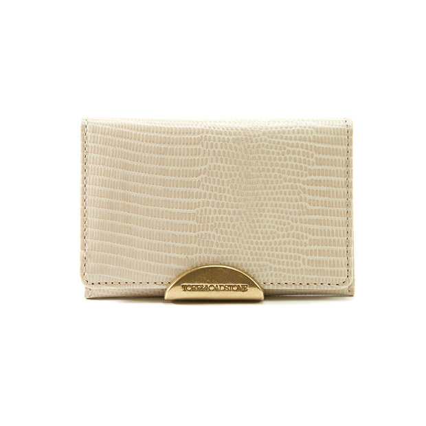 TOFF&LOADSTONEトフアンドロードストーン デリスリザード名刺入れ カードケース Women's Delice Lizard Business Cardcase TOFF&LOADSTONE TLA-342