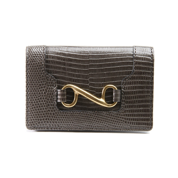 TOFF&LOADSTONEトフアンドロードストーン デリスリザード 名刺入れ カードケース Delice lizard Businesscard case Women's TOFF&LOADSTONE TLA-414