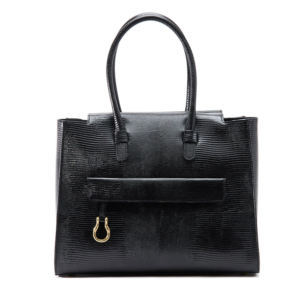 TOFF&LOADSTONEトフアンドロードストーン レディライト トートバッグ リザード A4 15インチ TOFF&LOADSTONE Lady light tote lizard Women's TL-6770